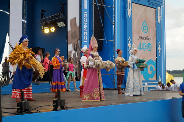Ольга Ярилова приняла участие в торжествах, посвященных 400-летию Енисейска