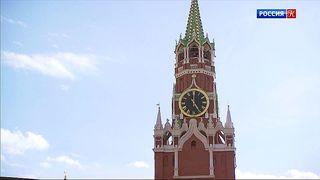"""На Красной площади началась подготовка к фестивалю """"Спасская башня"""""""