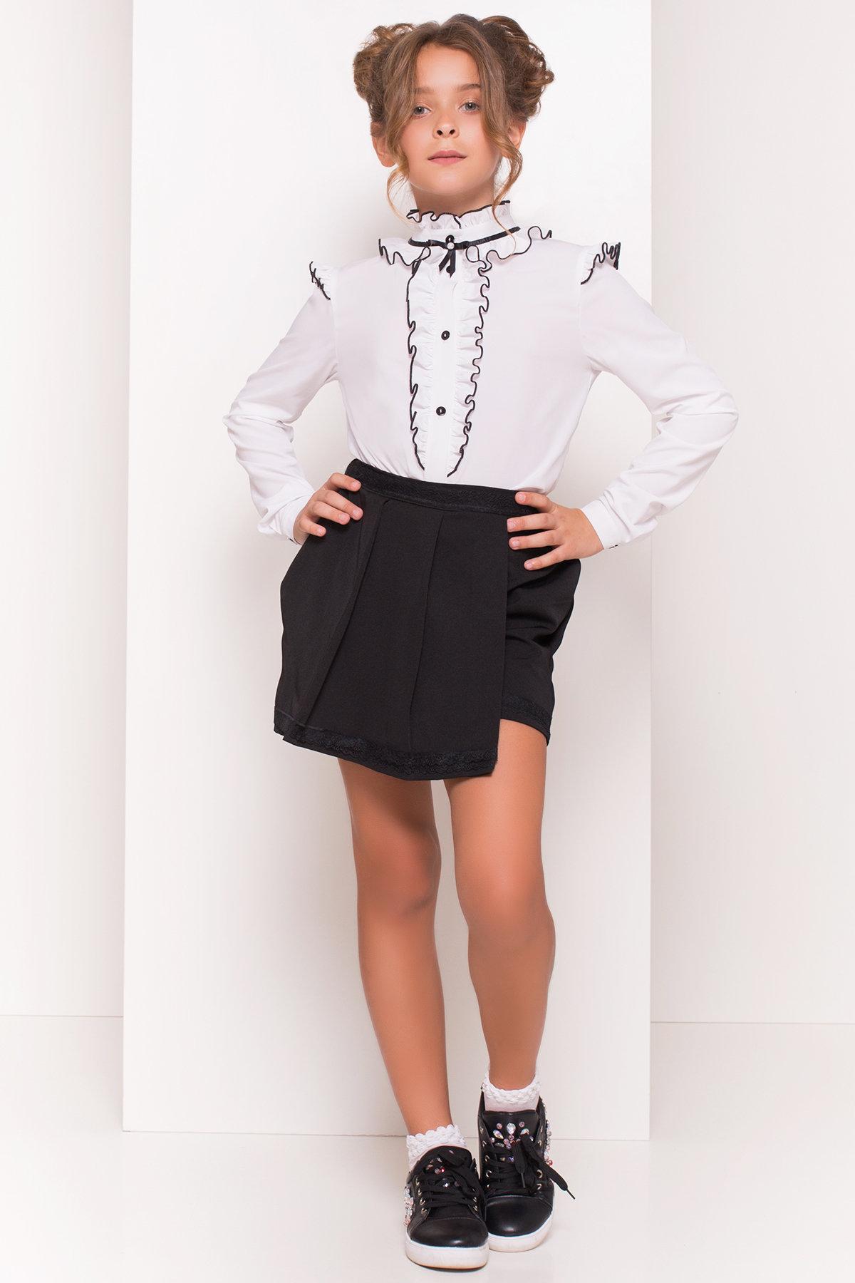 Как подобрать нарядные школьные блузки для девочек?