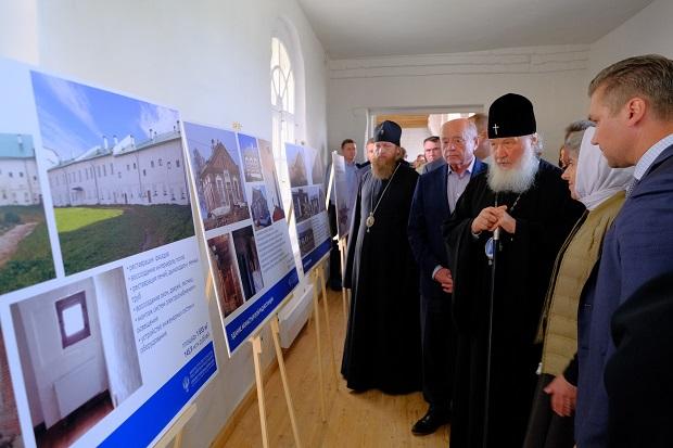 Патриарх Кирилл высоко дал оценку реставрационные работы в Соловецком монастыре