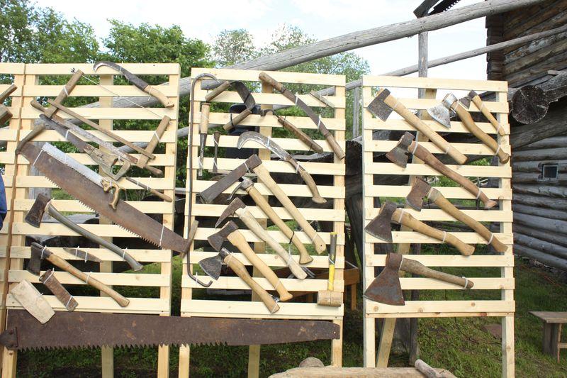 """Экспозиция """" Секреты старых плотников """" откроется в музее """" Кижи """" 26 августа"""