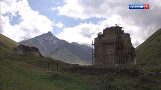 Зругский храм в Северной Осетии находится на грани разрушения