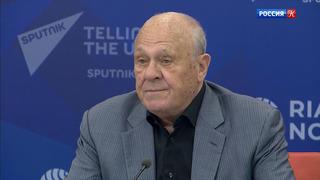 Владимир Меньшов дал пресс-конференцию в Москве