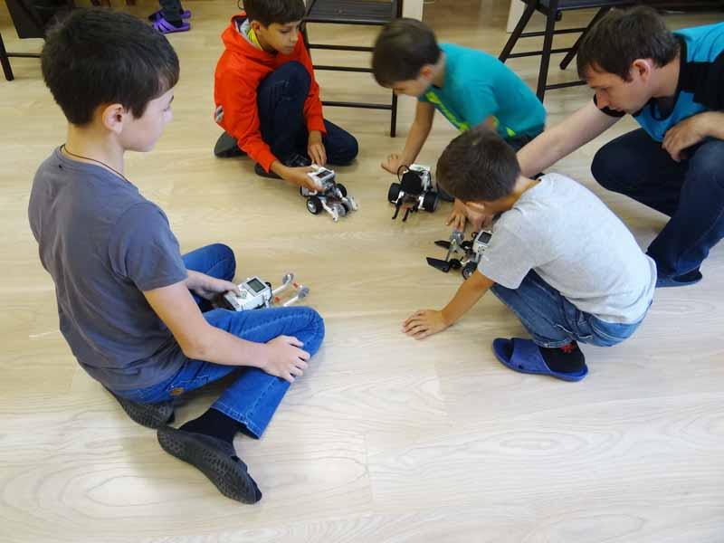 занятия по робототехнике Мытищи
