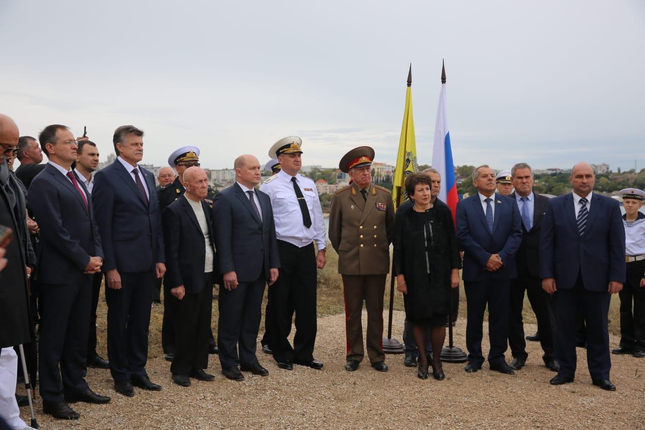 Владимир Мединский принял участие в открытии закладного камня на месте грядущего памятника окончанию