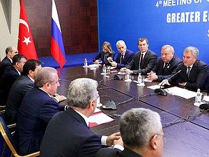 Вячеслав Володин и Мустафа Шентоп обсудили расширение списка участников Конференции по проблемам борь
