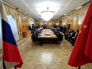 РФ и Китай будут развивать межпарламентские отношения в цифровой экономике