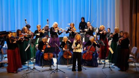 """"""" Вивальди-оркестр """" показал новую программу в Концертном зале им. Чайковского"""