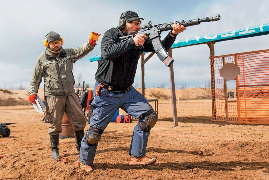 Как стрелять бычстро