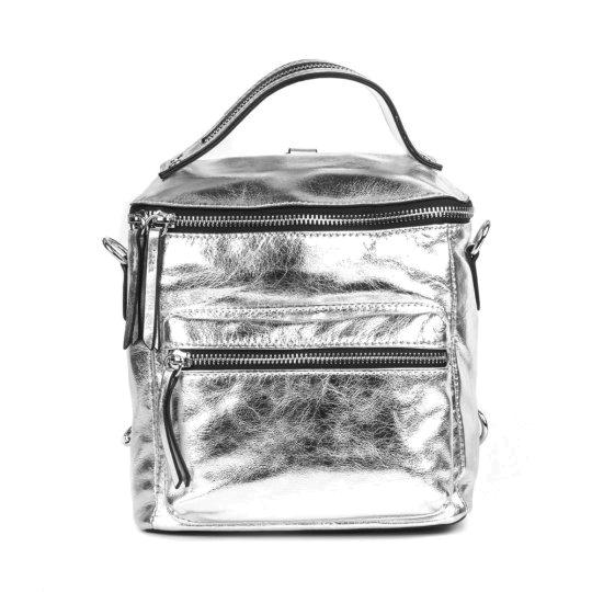 серебрянная сумка