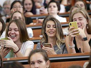 Вячеслав Володин засвидетельствовал свое почтение студентов российских высших учебных заведений с Татьяниным днем