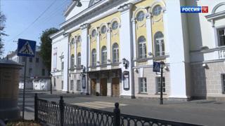 В Костромском театре имени Островского сохранились отопительные печи XIX века