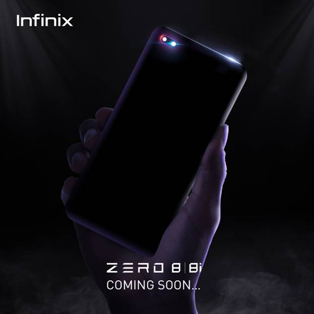 Infinix представляет Zero 8 с первой в мире двойной селфи-камерой
