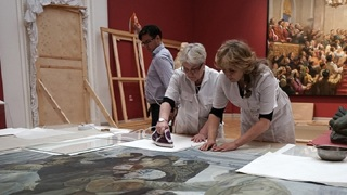 Реставраторы Русского музея поделились секретами профессии