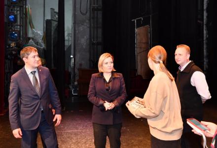 Ольге Любимовой презентовали проект строительства новой сцены Пермского театра оперы и балета