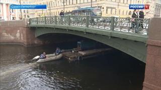 Подходит к концу ремонт Зеленого моста в Петербурге