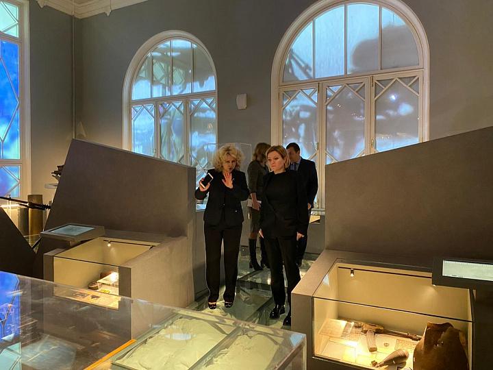 Санкт-Петербург стал 1-ым городом, который Ольга Любимова посетила с рабочим визитом
