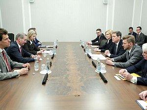 Прошло совещаение Первого зама главу ГД с Председателем правления Германо-Российского