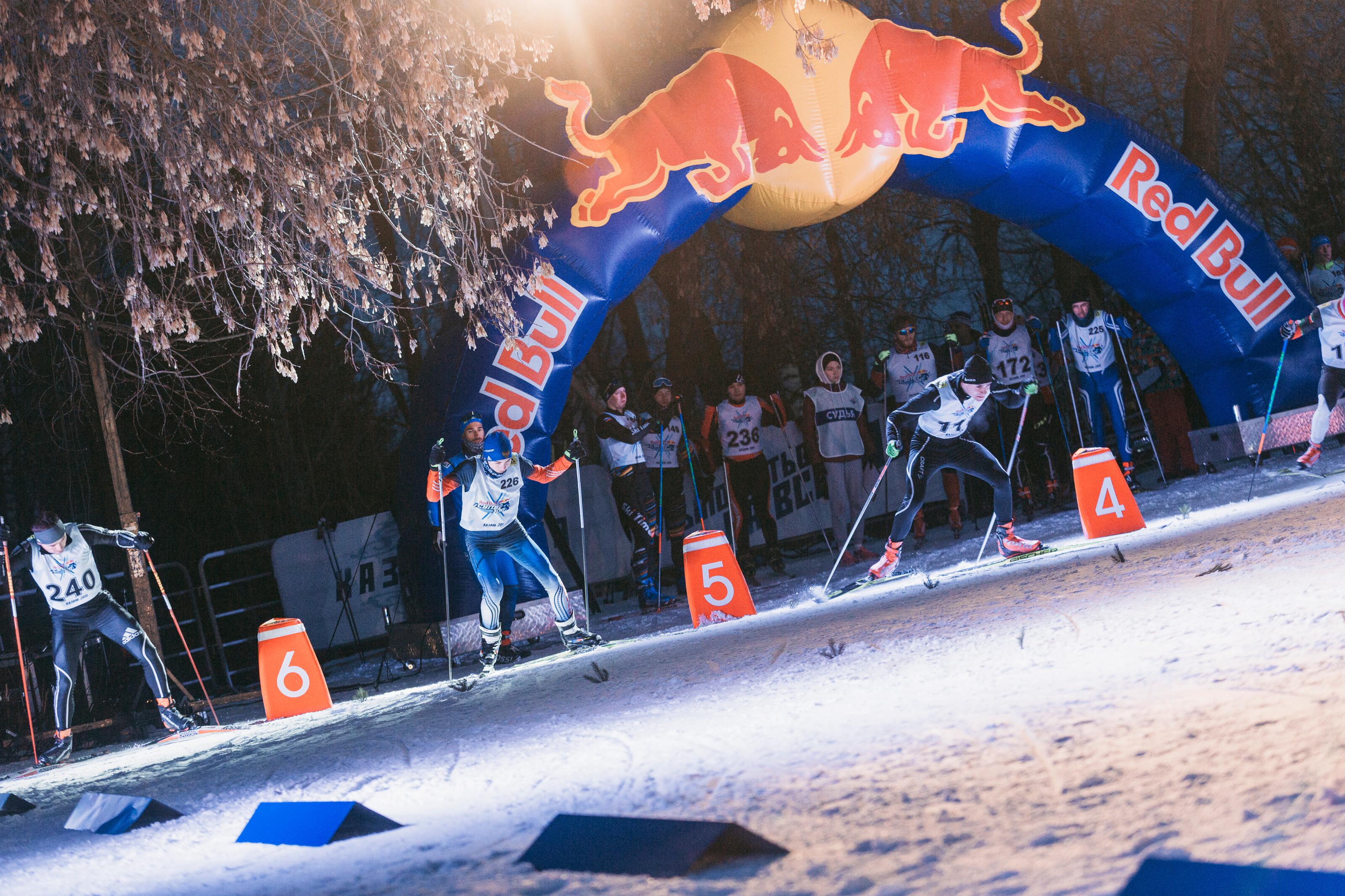 17 марта в Казани, в Центральном Парке Культуры и Отдыха им. Горького впервые в истории прошла суперспринтерская лыжная гонка Red Bull Супер 100.