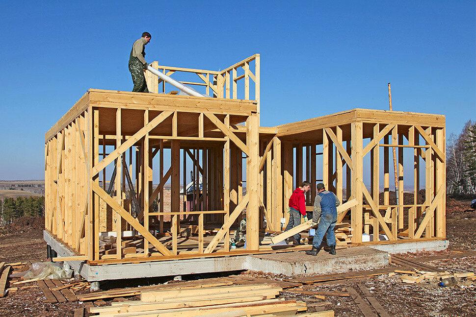 Рекомендации по выбору материала для строительства каркасного дома