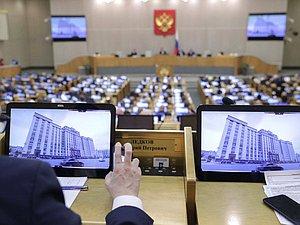 Законопроекты по инициативам Президента ожидается принять до окончания следующей недели