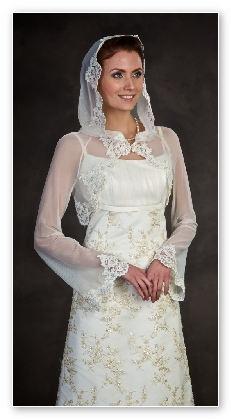 Каким должно быть платье для венчания в церкви