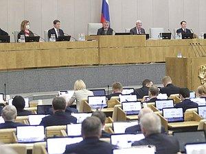 Вячеслав Володин: надобно законодательно снабдить реализацию предложений Президента по поддержк
