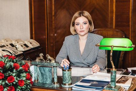 Ольга Любимова поздравила с 75-летием Победы в Великой Отечественной войне
