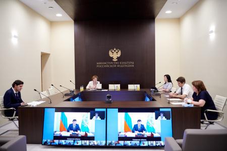 """Реализацию нацпроекта """" Культура """" обсудили на совещании профильной рабочей группы Госсовета"""