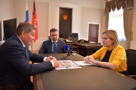 Ольга Любимова и Андрей Бочаров обсудили вопросы развития культуры в Волгоградской области