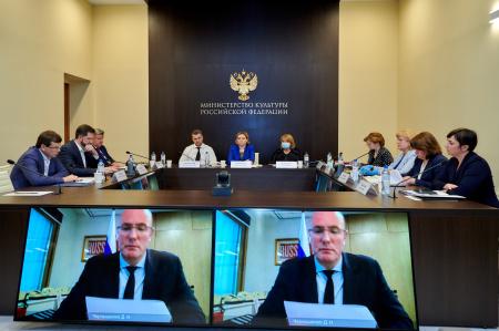 В Минкультуры России подвели итоги работы за 2019 год
