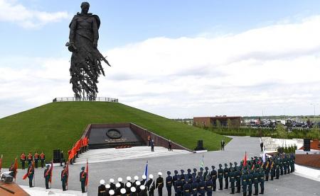 В Тверской области состоялось торжественное открытие Ржевского мемориала Советскому солдату