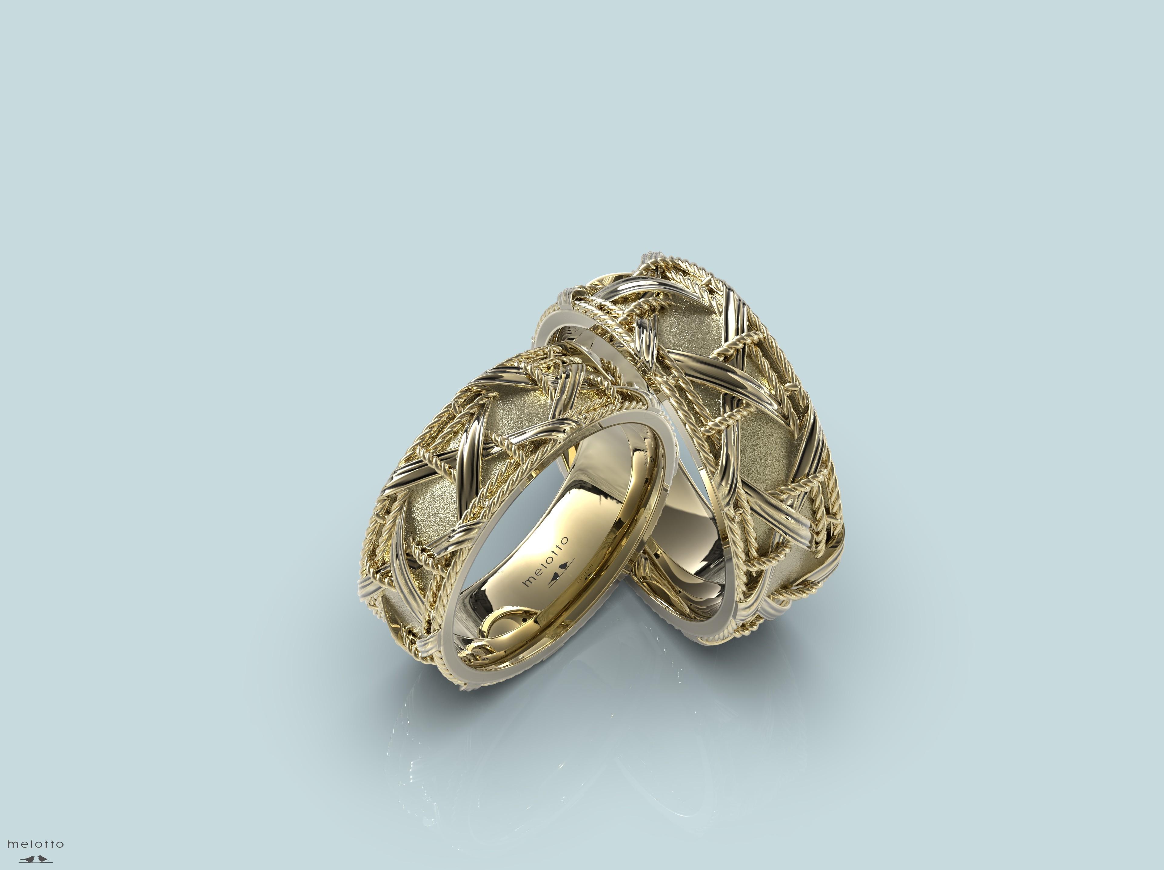 необычные обручальные кольца melotto-jewelry.ru