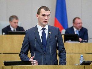 ГД завтра посмотрит вопрос о остановке полномочий Михаила Дегтярева
