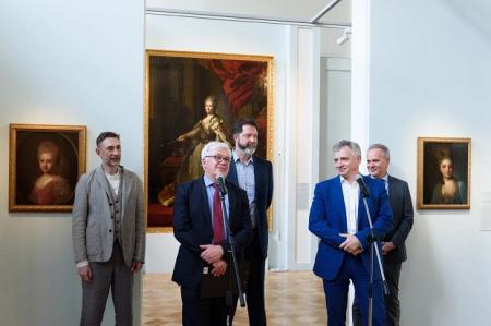 В Государственном историческом музее открылась экспозиция картин Фёдора Рокотова