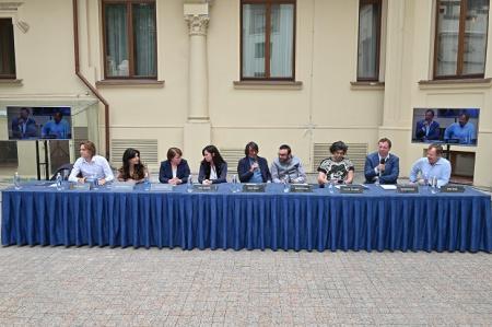"""В """" Башмет-центре """" состоялась пресс-конференция VI интернационального музыкального фестиваля П</div><div class="""