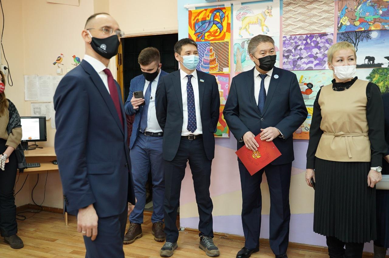 В Якутске торжественно открыли новое здание школы на 315 мест