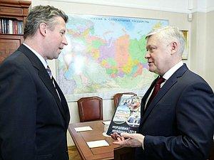 Василий Пискарев встретился с Послом Германии в РФ