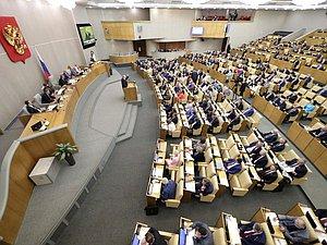 Уполномоченные фракций ГД подвели итоги работы весенней сессии