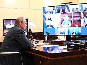 Руководитель ГД принял участие в встрече Президента Российской Федерации с постоянными членами Совета Безопасности