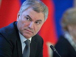 Вячеслав Володин об ограничениях для российской делегации: правильно было только не участвовать в