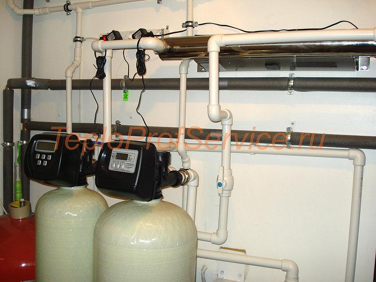 монтаж систем водоснабжения отопление и водоснабжение