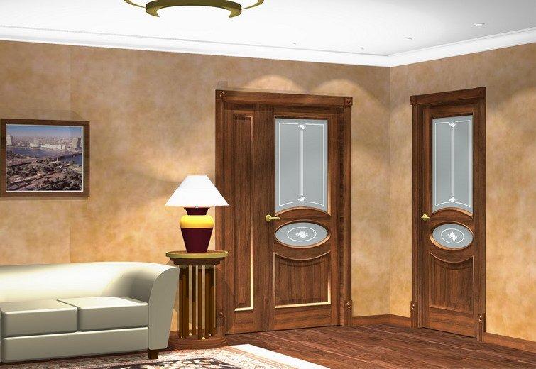 Новый стиль межкомнатные двери