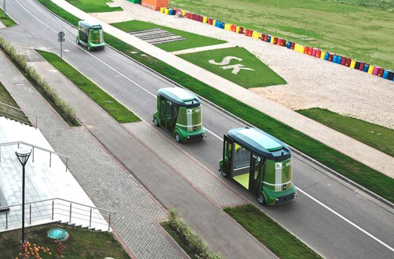 беспилотный автобус Волгабас