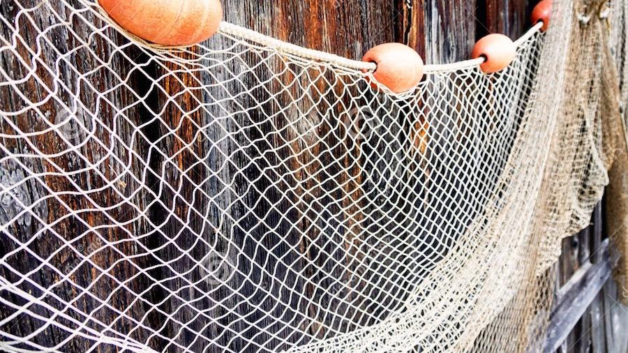 сплавная сетка для ловли рыбы