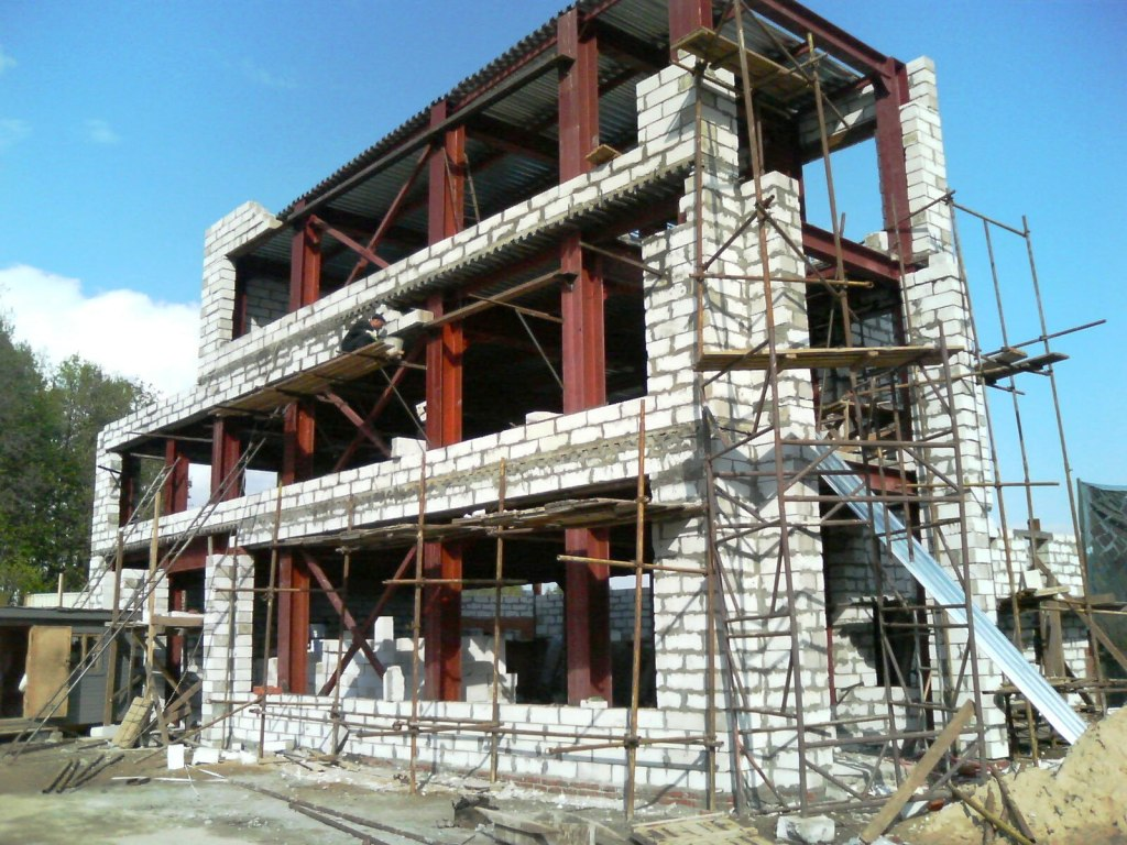 ремонт и строительство коттеджей